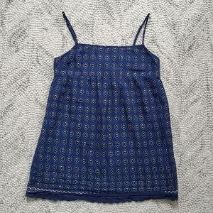Juicy Couture Blue Print Camisole Size 0